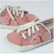 6009 - Tênis rosa - 23 - Zara e Zara Baby