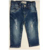 2106 - Calça Jeans - Baby Denim - 9 a 12 meses - baby Demim