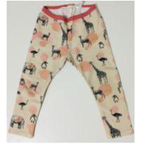 2111- Calça Legging animais ZARA - 24 a 36 meses - Zara e Zara Baby