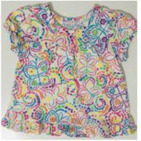 1007 - Blusa estampada colorida