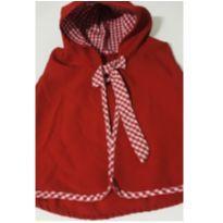 5024 - Capa Chapeuzinho Vermelho - 12 a 18 meses - Artesanal e Nacional