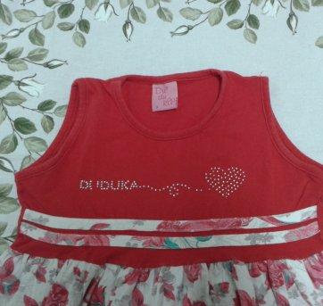 Vestido 8 - 8 anos - Duduka