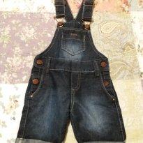 Jardineira jeans 2 - 2 anos - Gilas