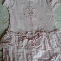 macacão p - 0 a 3 meses - Baby fashion