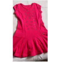 Vestido Pink Beijinhos - 10 anos - Pituchinhus