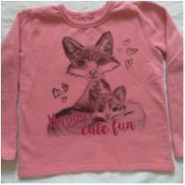 Blusão moletom rosa Brandili - 8 anos - Brandili