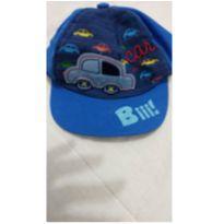 Boné azul de carrinho - 1 ano - Não informada