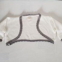 Bolero de lã - 6 a 9 meses - Petit Fashion