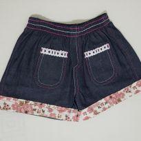 Short jeans - 3 anos - Não informada
