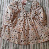 Vestido de Manguinha floridinho - 6 meses - EPK