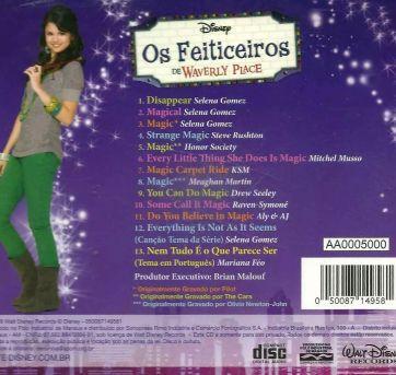 CD - Os Feiticeiros de Waverly Place - Sem faixa etaria - Disney
