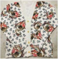 Casaquinho tricot estampa de cachorrinho - Único - Não informada e Marca não registrada