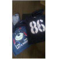 Camisetas manga longa - 2 anos - Sem marca