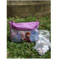 Bolsa frozen com quebra cabeça -  - Disney