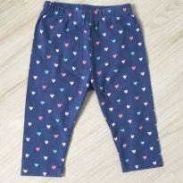 kit 4 calças multimarcas - 6 a 9 meses - Variadas