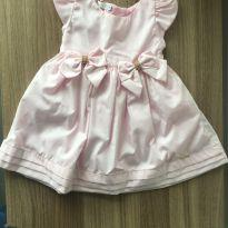Vestido Delicado para Princesa - 1 ano - Ser Garota