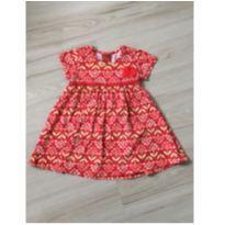 Vestido Floral - 9 a 12 meses - Kyly