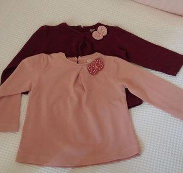 Camisetas manga longa - 6 a 9 meses - Zara Baby