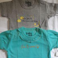 2 Bodies Menina - 9 a 12 meses - Não informada