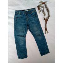 Calça Jeans com suspensório