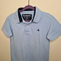 Camisa polo Brooksfield azul - 4 anos - Brooksfield Júnior