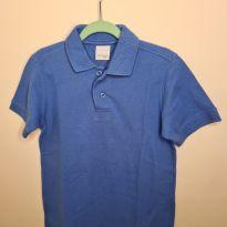 Camisa polo azul Malwee - 8 anos - Malwee