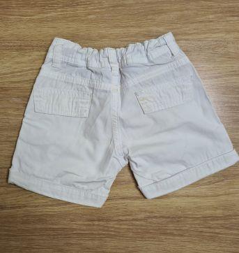 Shorts branco - 2 anos - Mini & Ninha Mini & Ninho