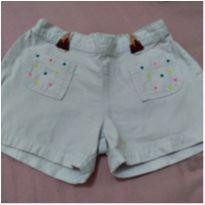 Short branco - 6 anos - Alphabeto
