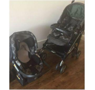 Carrinho e bebê conforto - Sem faixa etaria - Peg Pérego