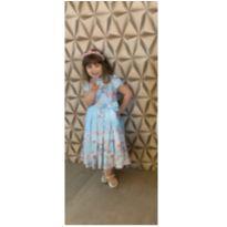 Vestido de Floral - 4 anos - Não informada