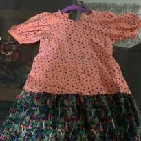 Vestido Fabula - 6 anos - Fábula