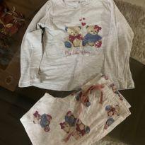 Pijama Ursinho - 4 anos - Não informada