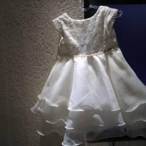 ee9182e19 LOOK DA BELINHA Vestido festa. Marca: Pupila [ 18 a 24 meses ] R$ 55,00