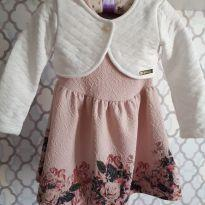 Vestido Florido - 1 ano - Kiki Xodó