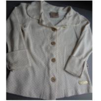 Camisa de manga comprida de bolinhas - 3 anos - Kiki Xodó