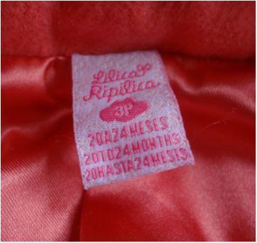 Jaqueta Rosa Lilica Ripilica - 18 a 24 meses - Lilica Ripilica