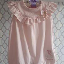 Macaquinho Sweet Girl - 9 meses - Pinoti Baby