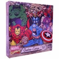 Quebra-cabeça Marvel Clássicos 500 Peças - Toyster - Sem faixa etaria - Toyster