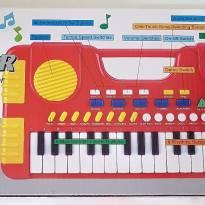 Piano Teclado Musical Infantil Sons Eletrônico 31 Teclas - Sem faixa etaria - Não informada