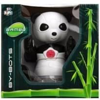 Brinquedo Robô By Bots Panda Bambu Se Mexe E Acende Luzes - Sem faixa etaria - Não informada