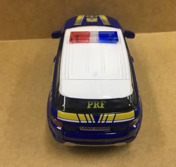 Miniatura Range Rover Evoque Da Polícia Rodoviária Federal - Sem faixa etaria - Não informada