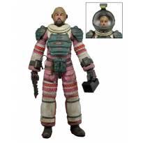 Arthur Dallas (Compression Suit) Aliens Série 4 Neca -  - Não informada