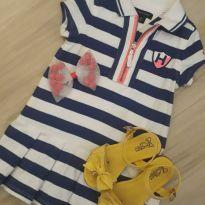 Vestido Tommy 18 Meses - 18 meses - Tommy Hilfiger