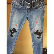 Calça Jeans Mickey GAP - Tamanho 5 - 5 anos - GAP