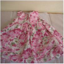 Primavera com flores, vestido  Baby Gap - ml 36 - 9 a 12 meses - Baby Gap
