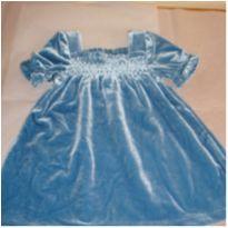 Gracioso vestido da Gap Baby veludo primavera. ml 38. - 3 a 6 meses - Gap Disney importados