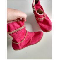 Botinha pink - 25 - Não informada