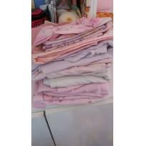 Lote de lençol e colcha -  - Não informada