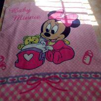 Cobertor infantil/bebê Baby Minnie -  - Disney baby