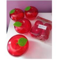 Kit de maçãs de acrílico -  - Sem marca